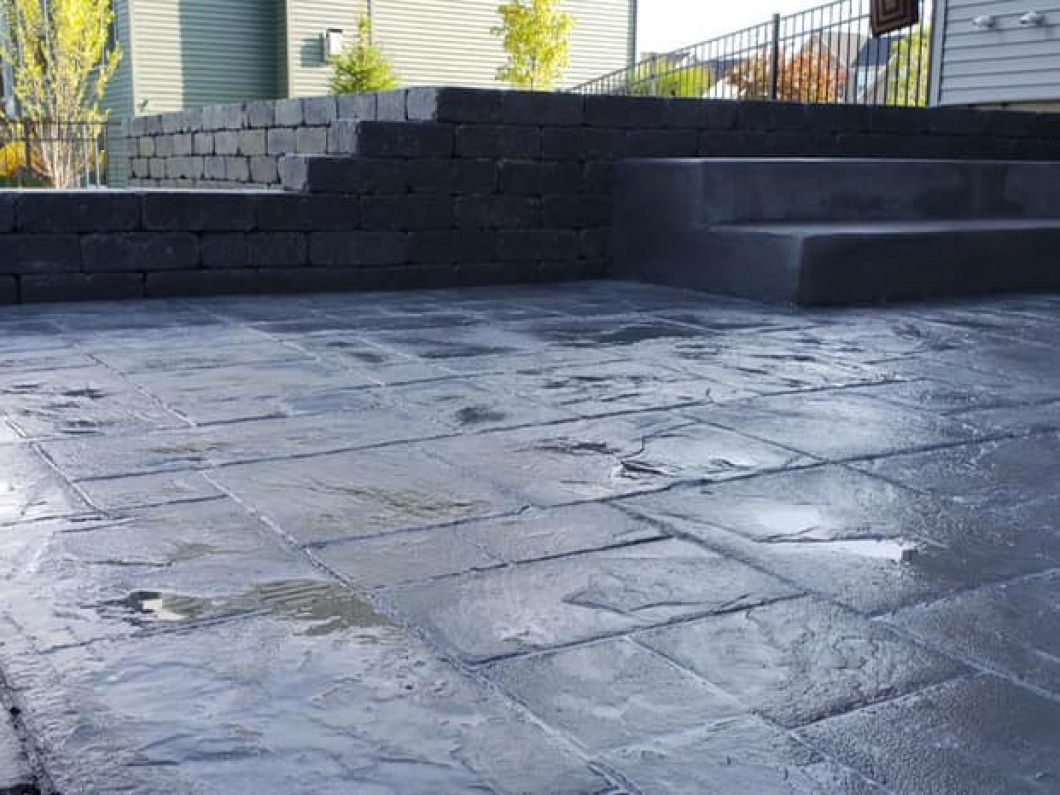Trust us for concrete patio installation in Depew, NY and surrounding areas