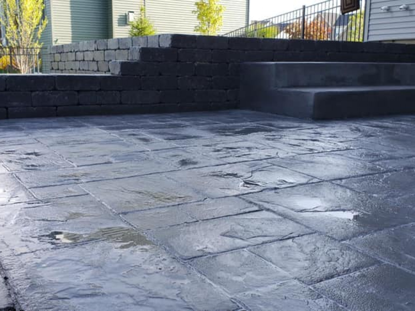 Trust us for concrete patio installation in Depew, Williamsville, NY and surrounding areas